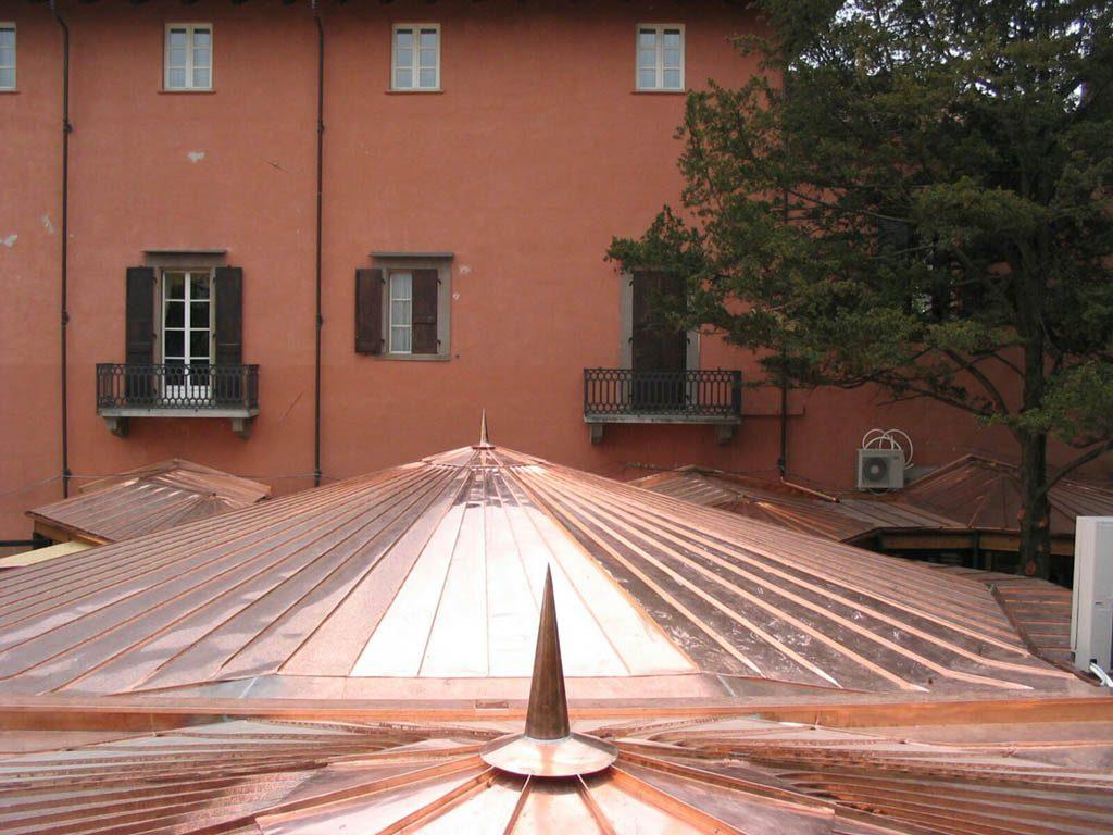 produciamo tetti in rame