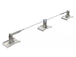 installiamo linee vita per sistemi di ancoraggio